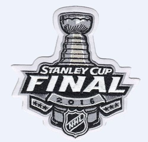Stitched 2016 NHL Stanley Cup Final Logo Jersey Patch